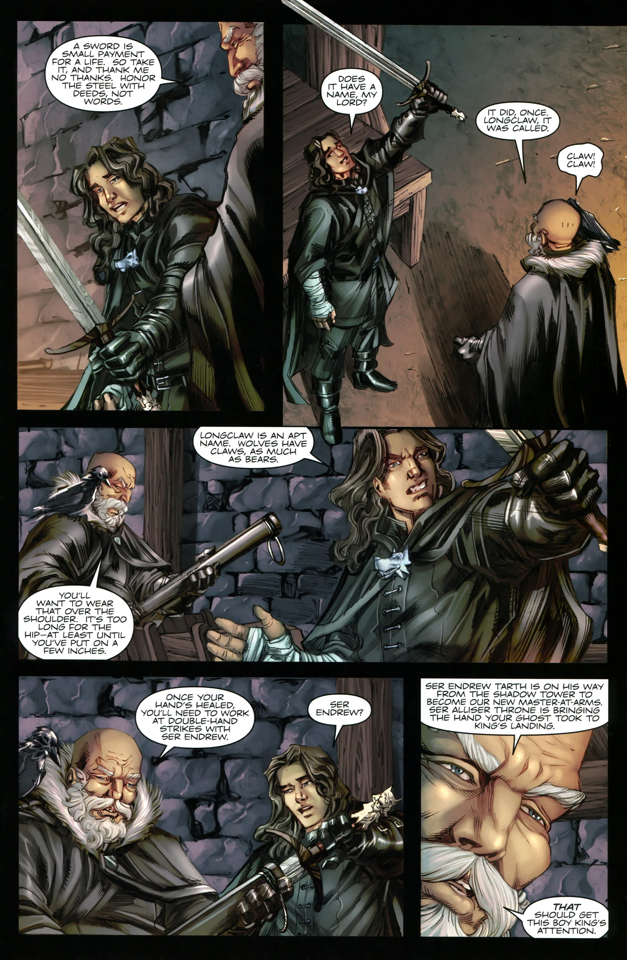 Read online A Game Of Thrones comic -  Issue #20 - 23