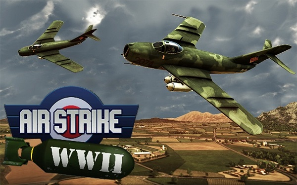 Download Air Strike WW2 Fighters Mod Apk Android GamePlay