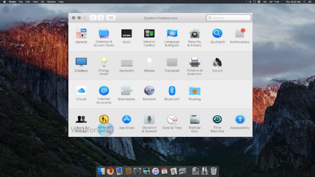 Mac OS X El Capitan 10.11.6 VMware Image Free Download