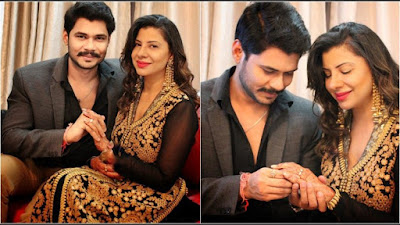 Celebrity-engagement-Sambhavna-Seth-Avinash
