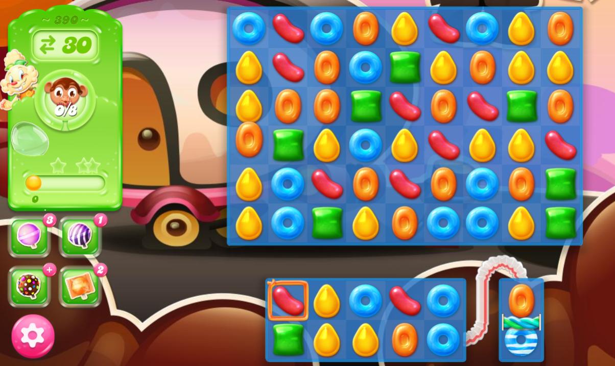 Candy Crush Jelly Saga 390
