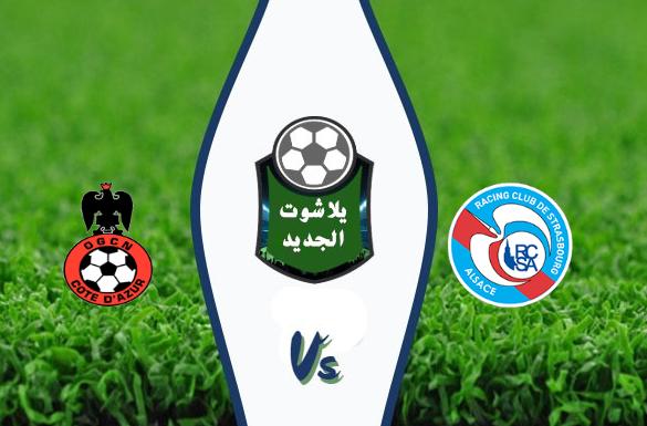نتيجة مباراة ستراسبورج ونيس اليوم السبت 29 اغسطس 2020 الدوري الفرنسي