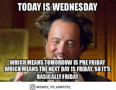 Today is wednesday