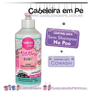 Creme Multifuncional Meu Primeiro Cachinho - Tô de Cacho - Salon Line (No Poo)