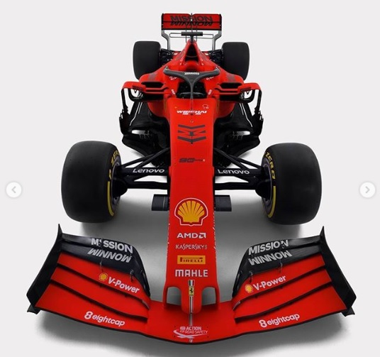 Ferrari SF90 Mission Winnow - Persiapana Musim balap 2019