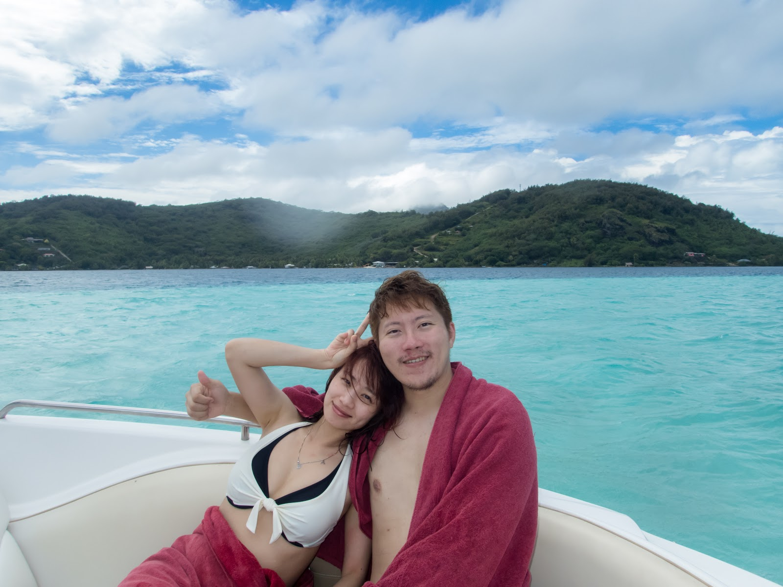 Tahiti Bora Bora|Pure Snorkeling @Aquarium Snorkeling Location. Manta ray