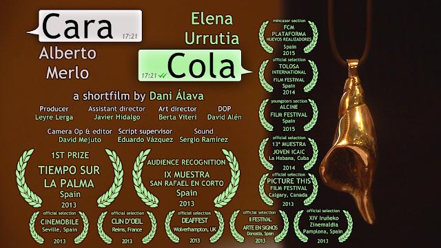 Cortometraje Caracola dirigido en 2013 por Dani Álava