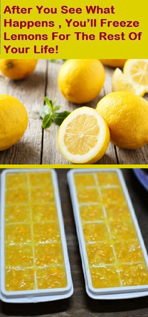 Believe It or Not, After you See What Happens, You'll Freeze Lemons For The Rest Of Your Life!