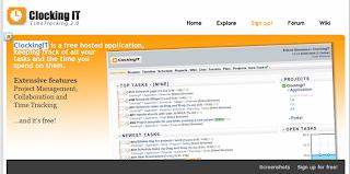 Clocking IT - Aplicación gratuita para gestión de proyectos