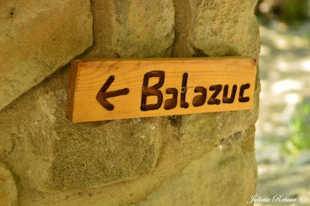 Balazuc en Ardèche