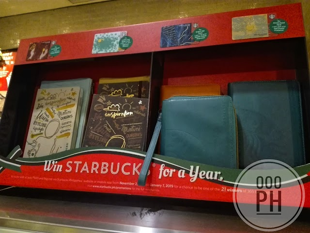 Starbucks Philippines Planner and Travel Organizer 2019