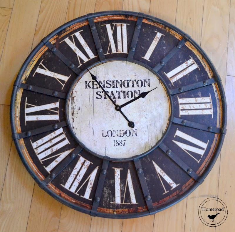 Repurposed Brand New Clock