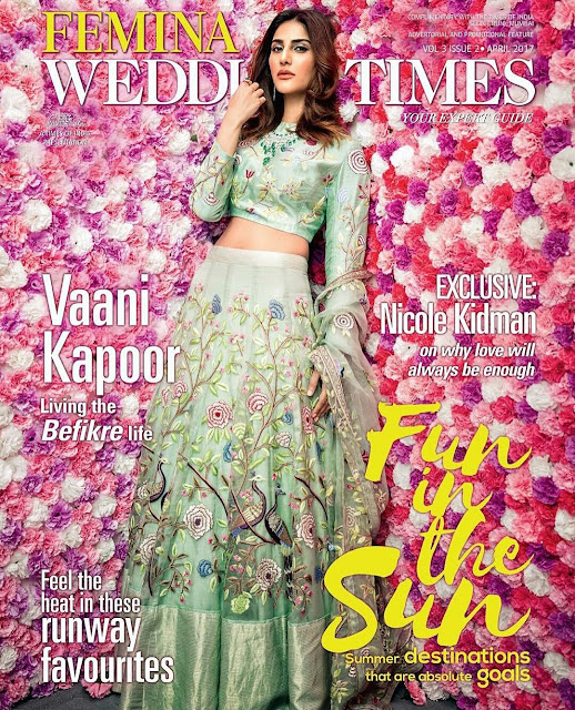 Vaani Kapoor On Femina Wedding Times