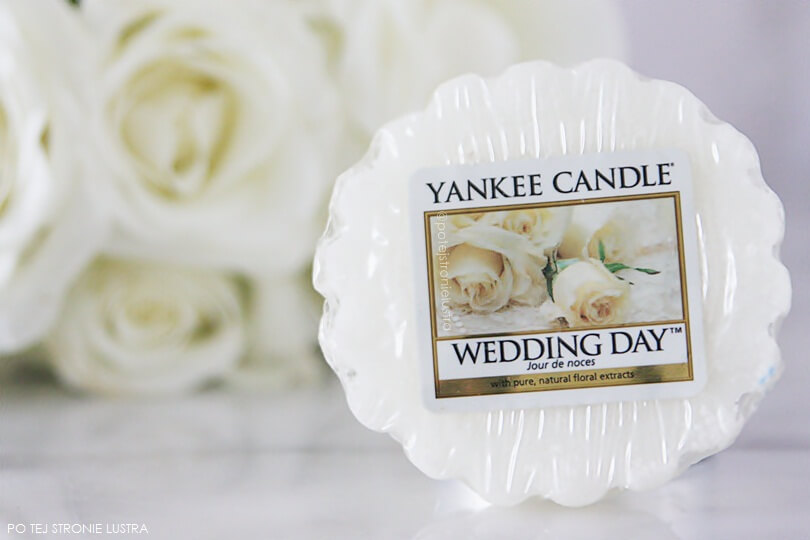 etykieta zapachu wedding day yankee candle