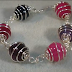Wire Spiral Caged Bead Bracelet Tutorial