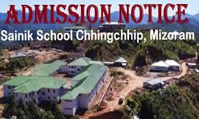 Sainik School Chhingchhip Mizoram Recruitment 2018 Driver, Ward Boy, Physical Education Instructor - Apply Now