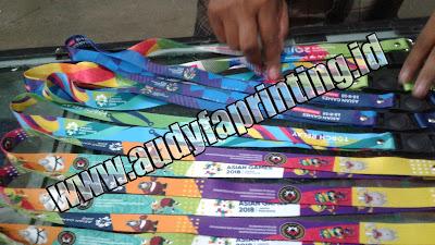 Tempat Cetak Tali ID Card Full Warna, Bagus, Tajam, Awet, Bergengsi, Harga Murah