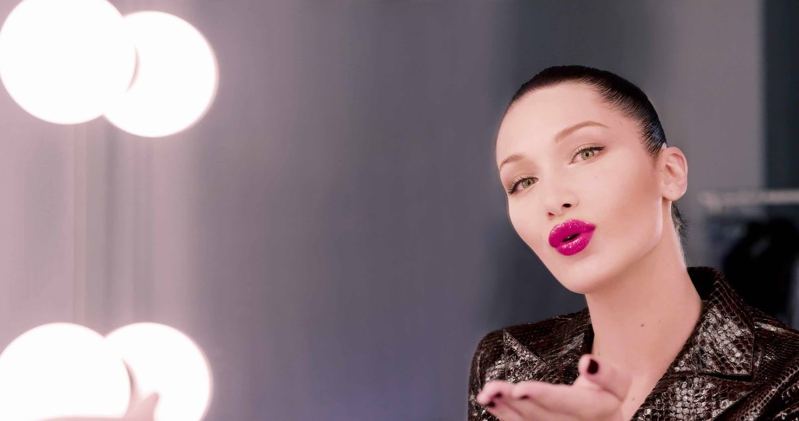 Dior Addict Lip Lacquer Plump Campaign ft. Bella Hadid