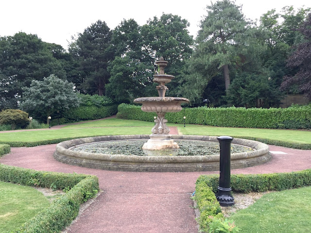 Oulton Hall Hotel Leeds Garden Fountain