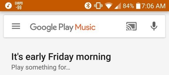 Google Play Music Android App Got New Redesigned Search bar