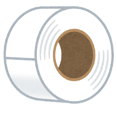 ビニールテープのイラスト