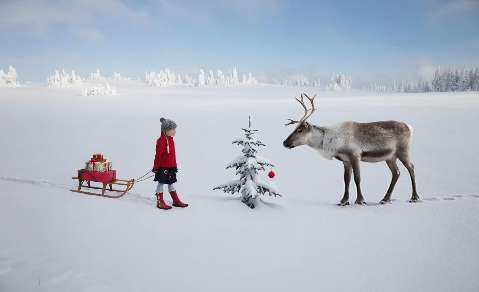 Christmas Scenes Images & Christmas Scenes Wallpaper