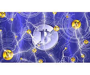 ビットコインのライトニングネットワークイメージ