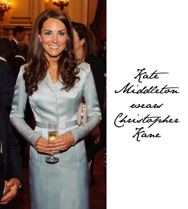 Kate Middleton wears Christopher Kane Dress
