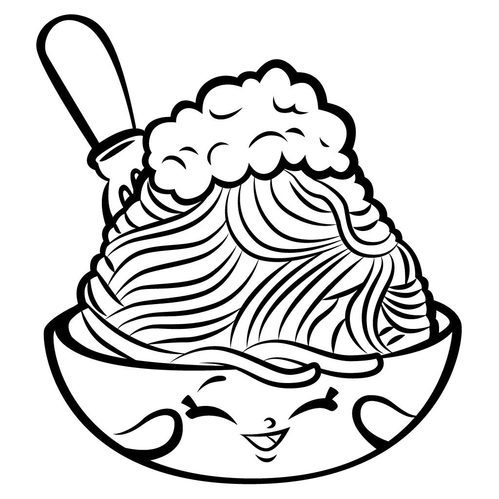 Mewarnai Shopkins Ice Cream Gambar Mewarnai Gratis
