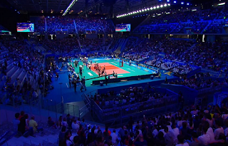 FIVB Men's Volleyball Biss Key Asiasat 5 1 October 2018