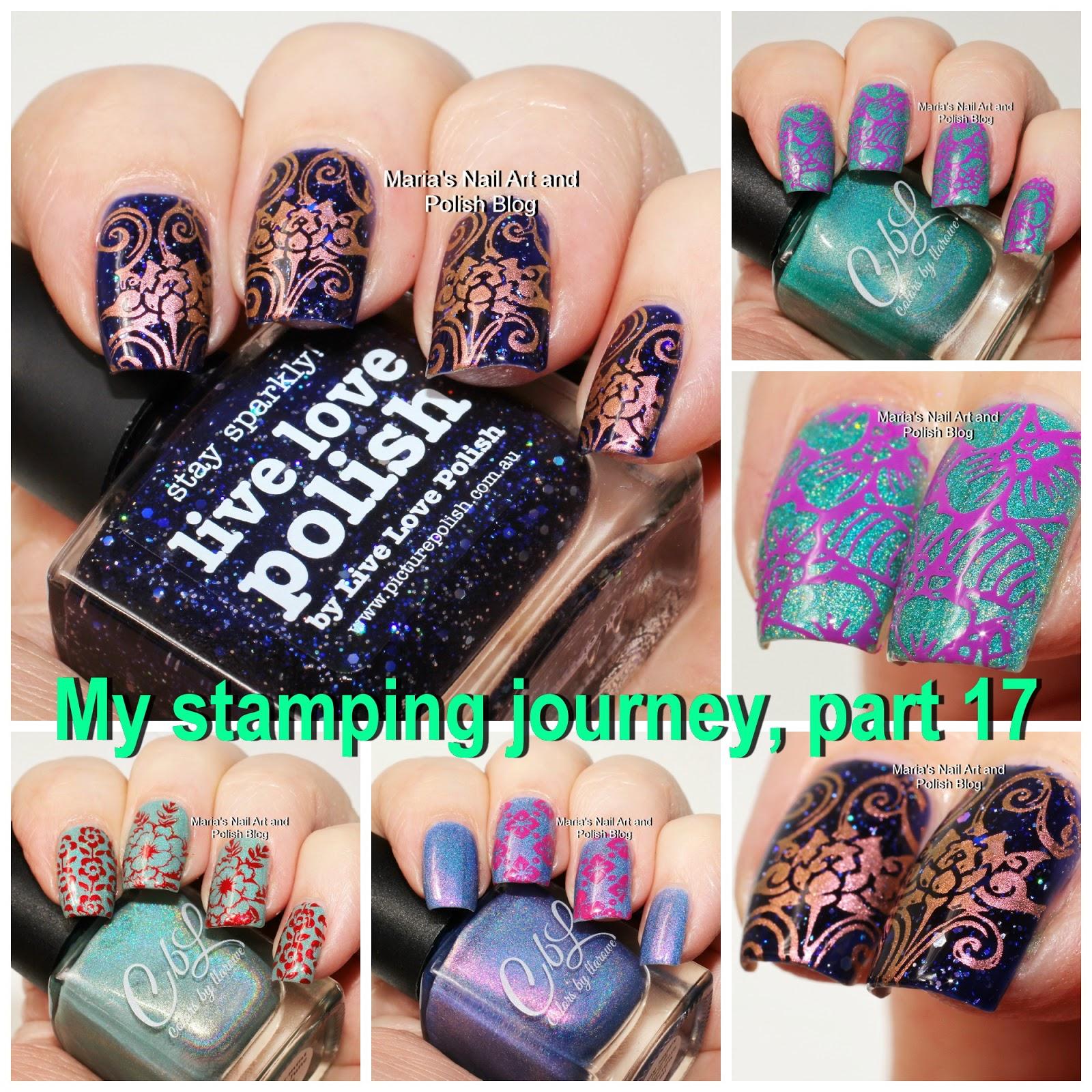 Marias nail art and polish blog my stamping journey part 17 its time again more stamping nail art from my stamping journey take 74 75 76 and 77 prinsesfo Gallery