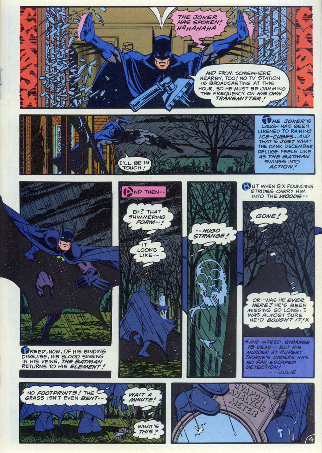 Read online Shadow of the Batman comic -  Issue #4 - 24