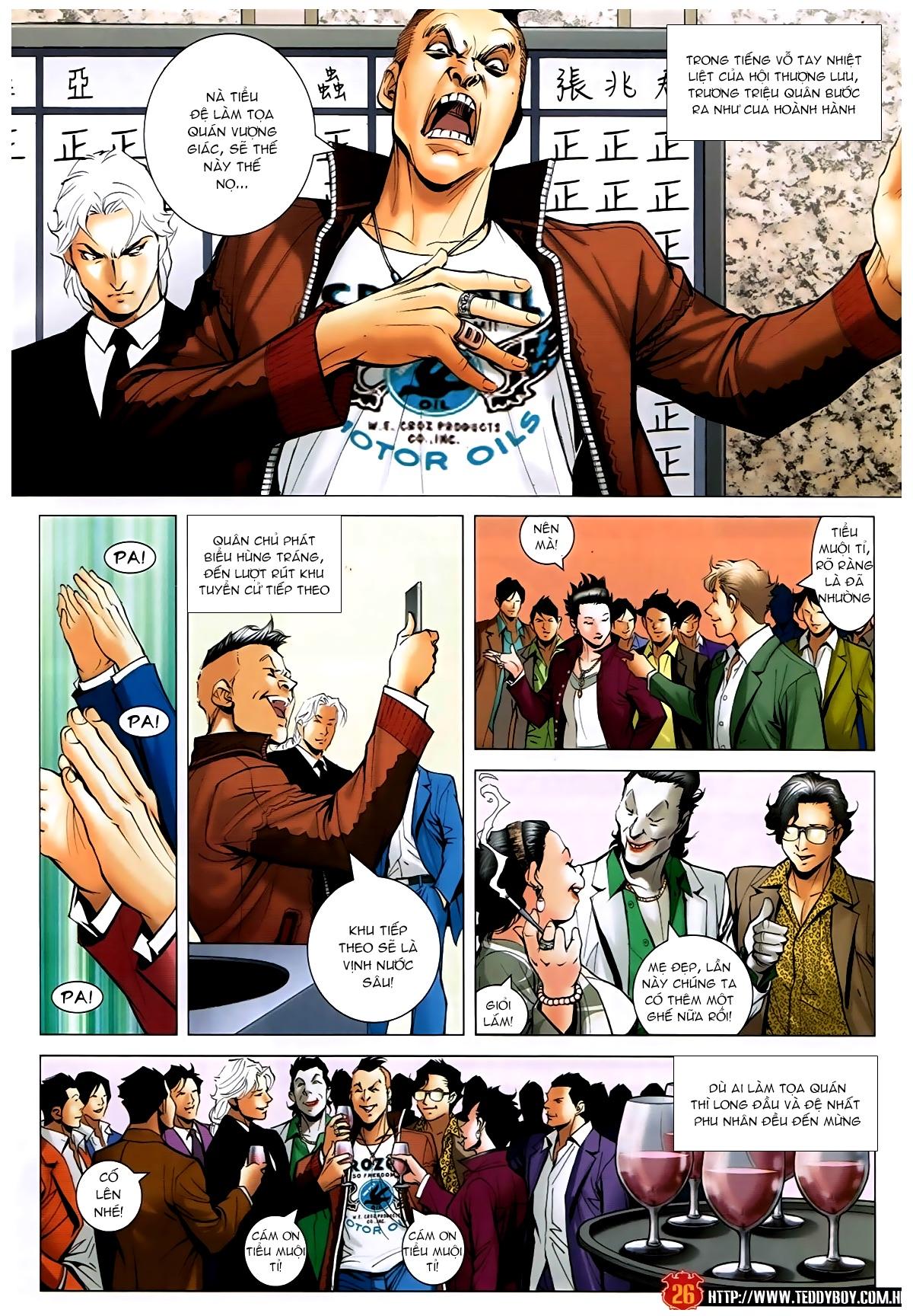 Người Trong Giang Hồ - Chapter 1593: Tọa quán Vượng Giác - Pic 25