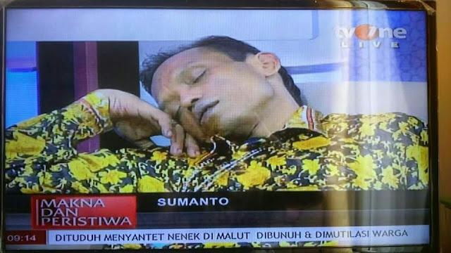 Orang Ini Tidur Saat Siaran langsung, Tak Ada Yang Berani Mbangunin