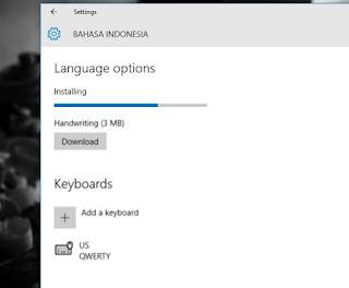 Cara Mengganti Bahasa pada Windows 10
