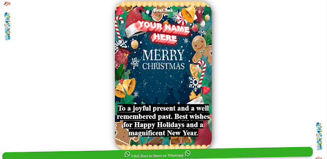 Download Christmas Wishing script free