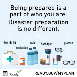 National Preparedness month, GIVEAWAY, win $100 Amazon gift card, Ready.gov