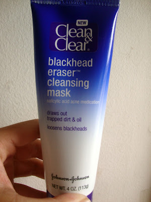 Clean & Clear Blackhead Eraser Cleansing Mask