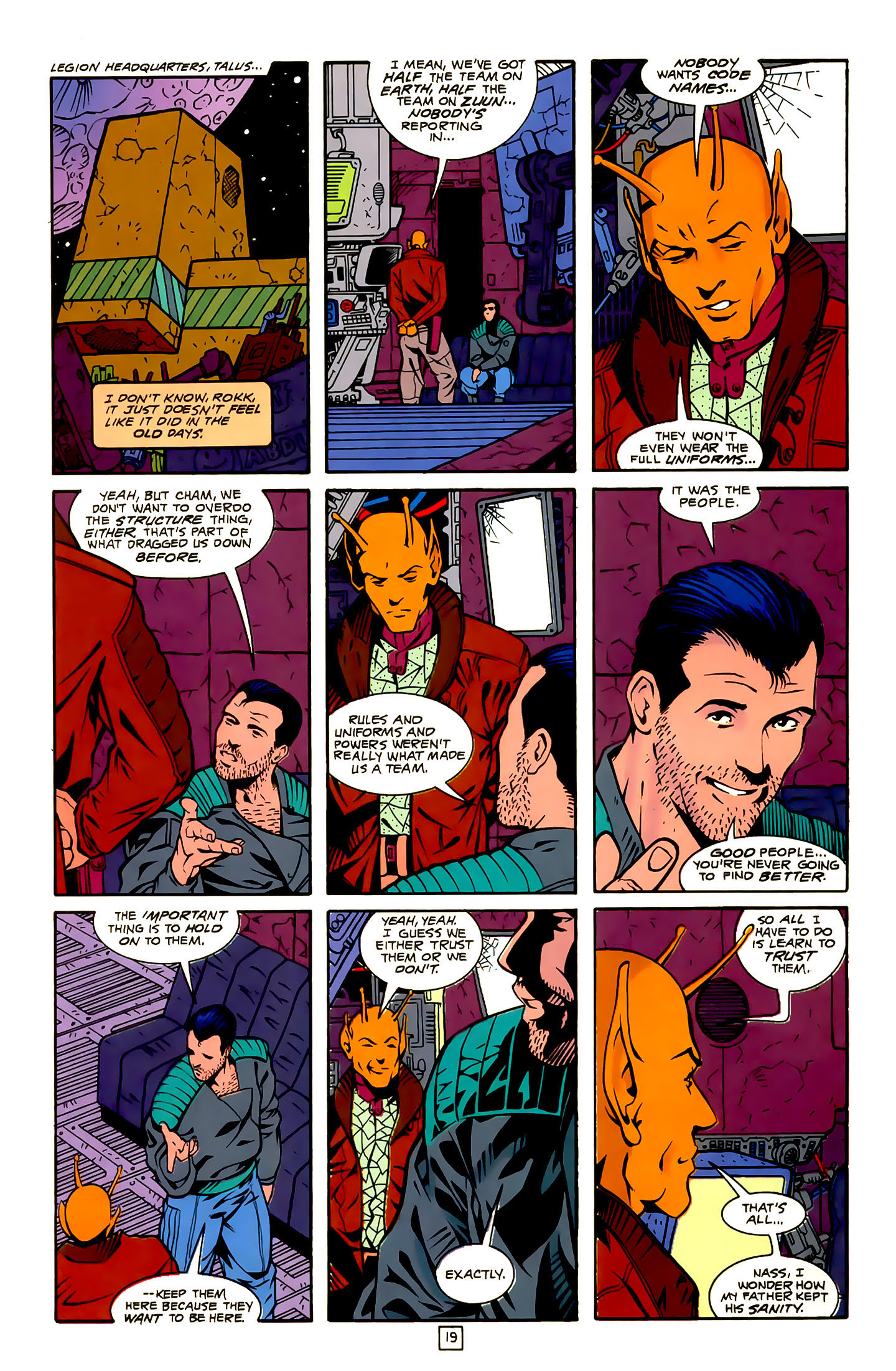 Legion of Super-Heroes (1989) 22 Page 19