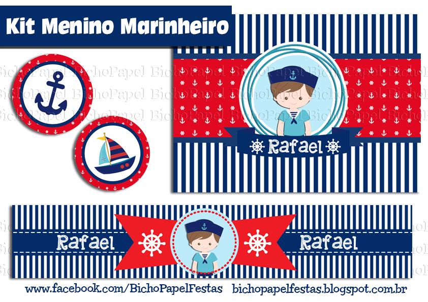Kit Festa Menino Marinheiro