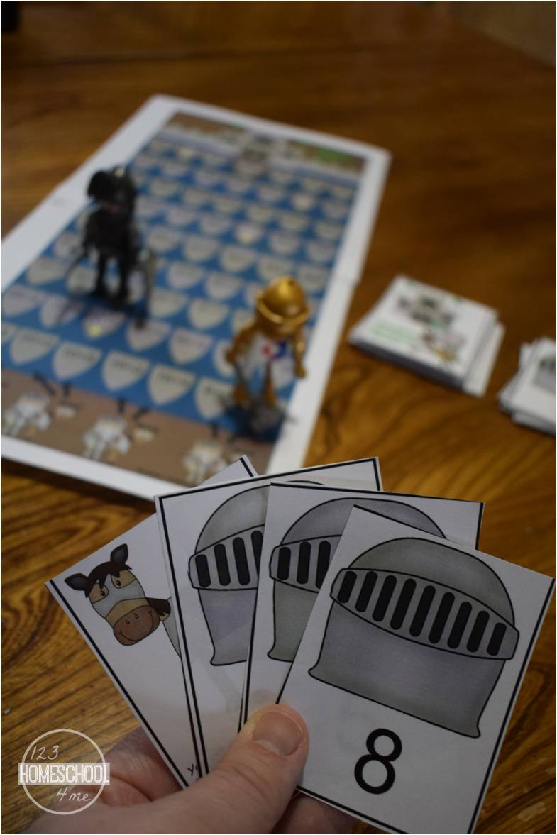Knights Quest Division Game