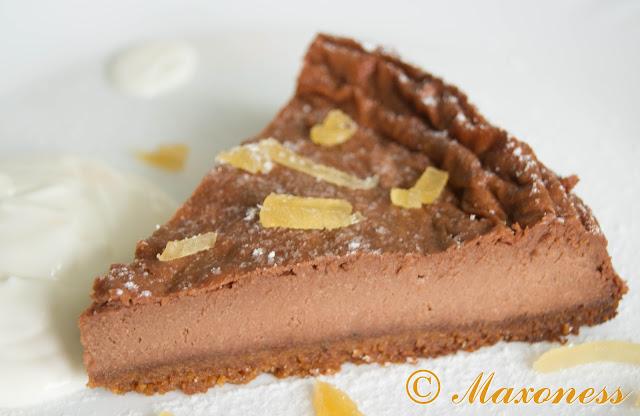 Имбирно-шоколадный чизкейк от Гордона Рамзи