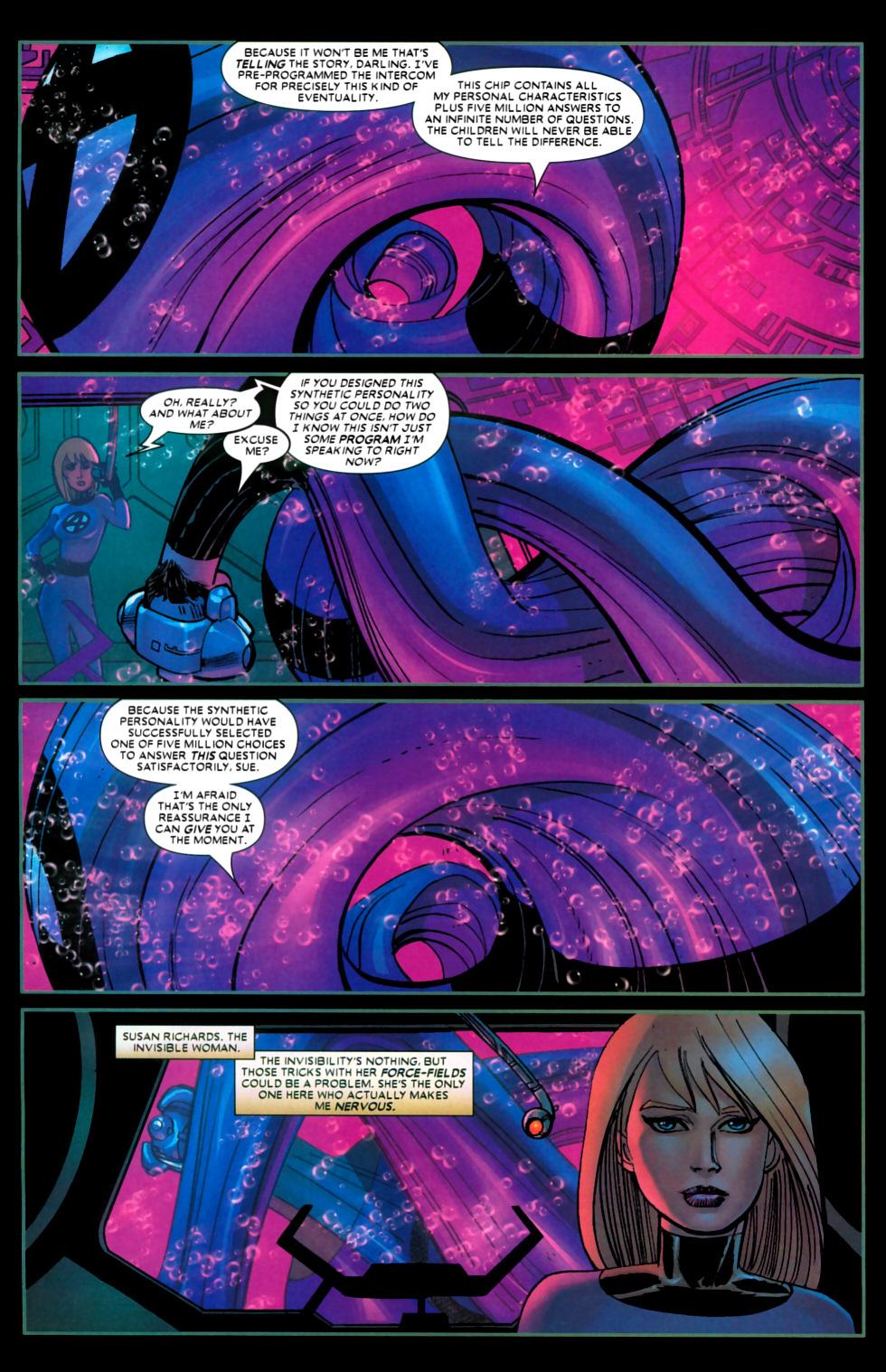 Read online Wolverine (2003) comic -  Issue #22 - 7