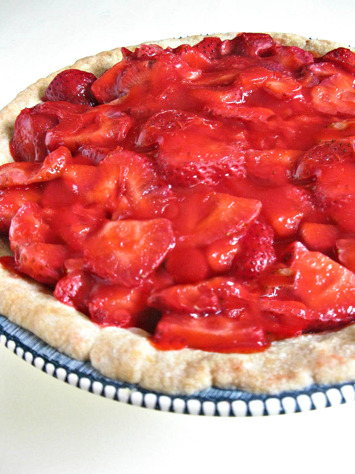 Easy Strawberry Pie In An Easy Homemade Buttery Shortbread Crust