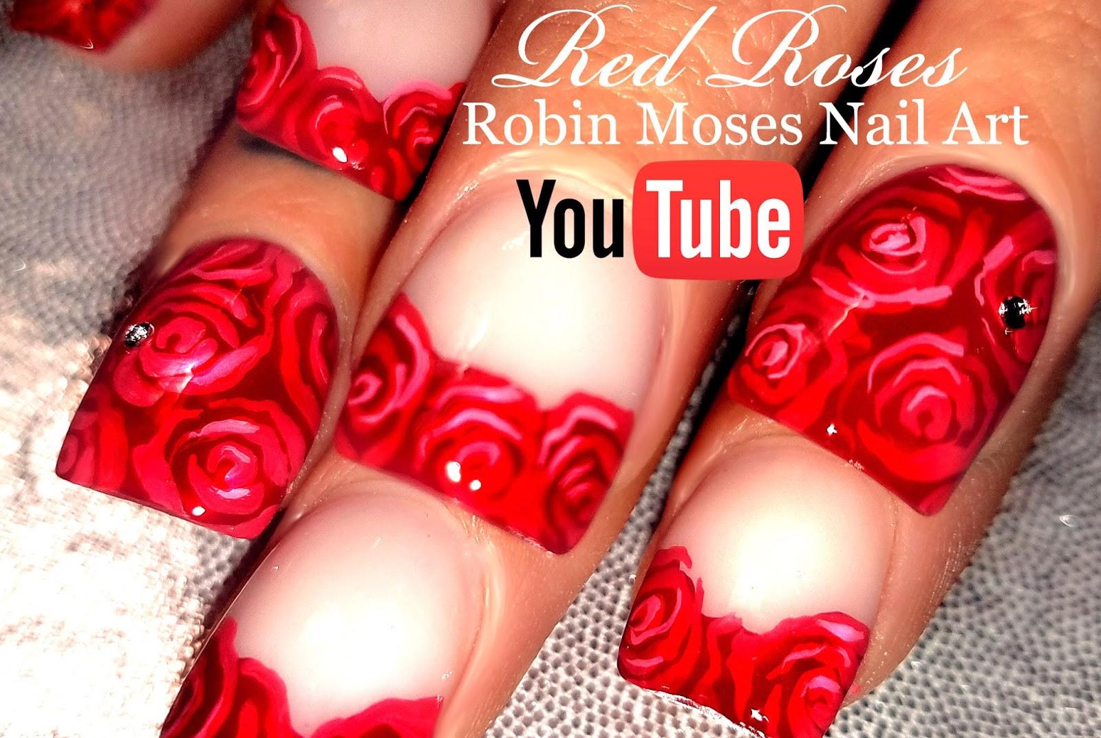 Nail Art Roses Easy – Papillon Day Spa