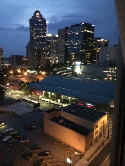 Charlotte North Carolina at night