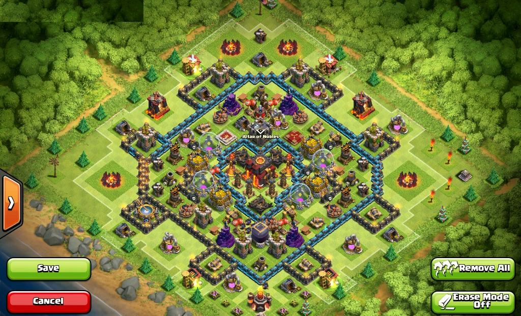 clash of clans th10 base link
