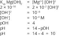 Cara menghitung pH mulai terbentuk endapan