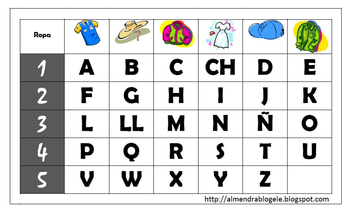 Almendra Mi Blog De Ele Codigos Secretos Para Practicar El Vocabulario