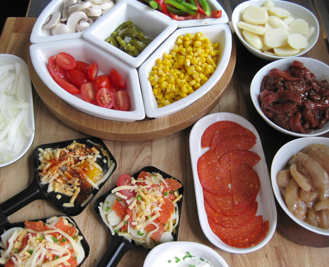 Raclette Dinner Party Recipe Ideas